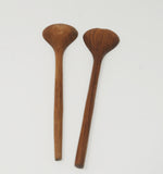 Danish modern teak wood image