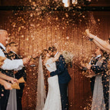 Flower Confetti, Wedding Toss  | GARDEN BLEND, 20-40 Guests, Sustainable Wedding, Biodegradable Confetti