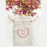 Wedding Confetti Toss Me Bags | Pre-Filled