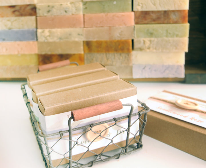 Handmade Soap Gift Set | The Lavender Basket