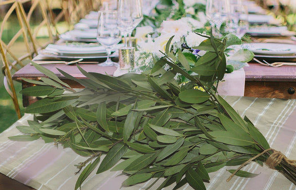 Garland Greenery | Bay Leaf Stems BY THE BOX 16x10x8