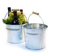 Large Galvanized Buckets | 5 ct.