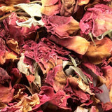 dried wedding roses image