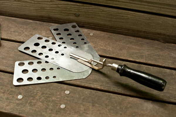 Vintage Spatula with Three Blades Made in the USA from the 1930s