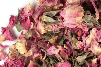 Rose Petals and Buds 1/4lb | Pink Dried Roses Food Grade | Tiny House Farm Premium