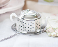 The perfect favor for your afternoon tea party, these uniquely-shaped tea infusers are a great way to thank all of your guests!