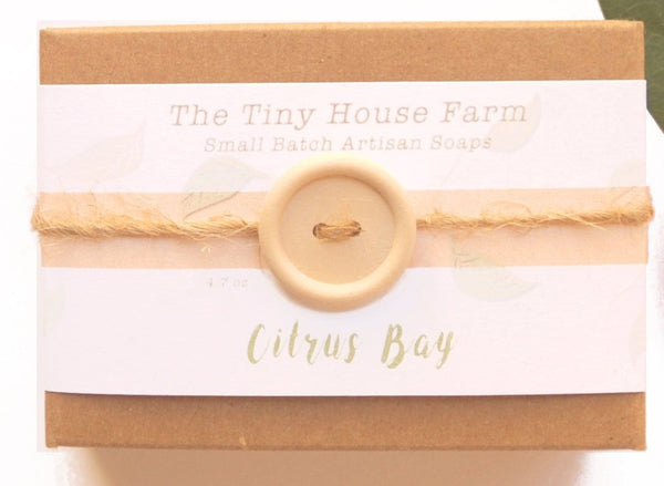 Citrus Bay Soap | Handmade Soaps | Cold Process Soap Bars