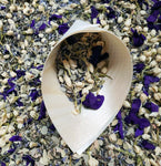 Biodegradable Flower Confetti | Purple and White | up to 200 Guests