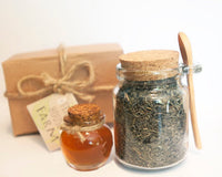 Mini Honey Jars with Corks | 5 ct.