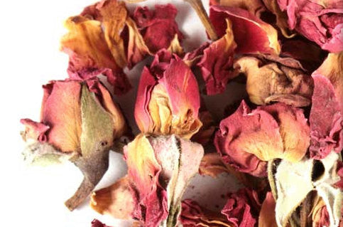 Rose Petals and Buds 1/4 lb | Rose Tea | Dried Red Roses