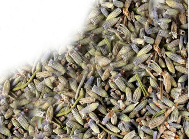Lavender for sachets from the tiny house farm