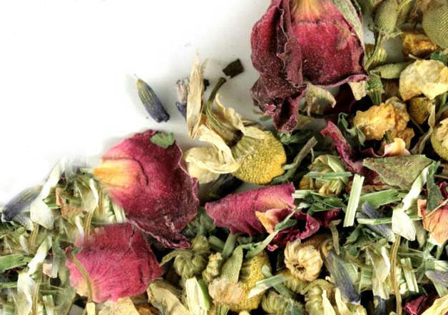 Victorian Rose Teahouse Tea | Tiny House Farm Premium Loose Leaf Tea 1/4lb. in Bulk