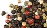 Peppercorn Mix Four whole pepper mix - red peppercorns, black peppercorns, pink peppercorns & white peppercorns