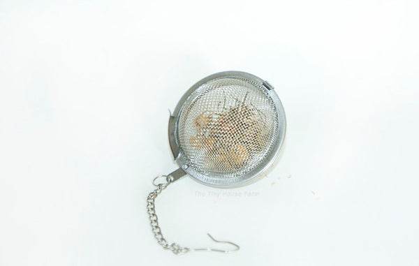 Small Tea Ball | Stainless Steel Tea Infuser