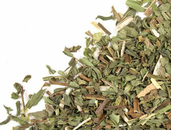 dried spearmint leaves spearmint tea