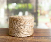 make twine wrapped mason jars