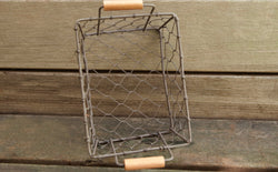 Rustic Wire Metal Basket Set of 5 | Farmhouse Decor