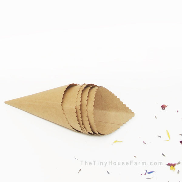 Wedding Confetti Cones | Singles
