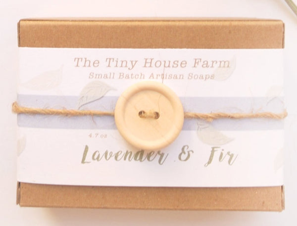 Lavender Fir  Soap | Handmade Soaps | Cold Process Soap Bars