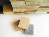 ACTIVATED CHARCOAL SOAP | Cold Process Soap Bars, unscented, deep cleaning