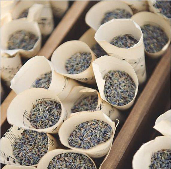 Lavender Wedding Toss, Sustainable Wedding,  Flower Confetti
