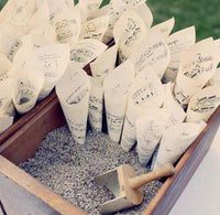 lavender wedding toss