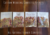 wedding confetti ideas