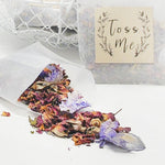 flower confetti for weddings image