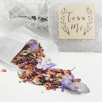 Sustainable Wedding,  Flower Confetti