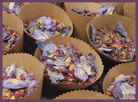 Flower Confetti, Wedding Toss, PURPLE | Mixed Botanicals, 50-75 Guests