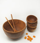 teak wood bowl image