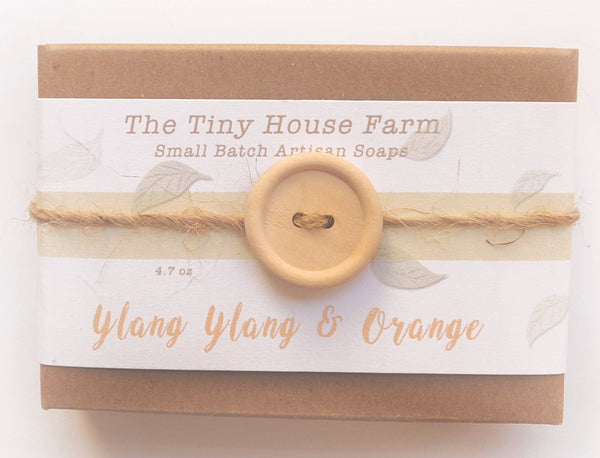 Ylang Ylang and Orange  Soap | Handmade Soaps | Cold Process Soap Bars