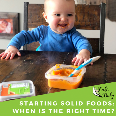When to start Baby on solids