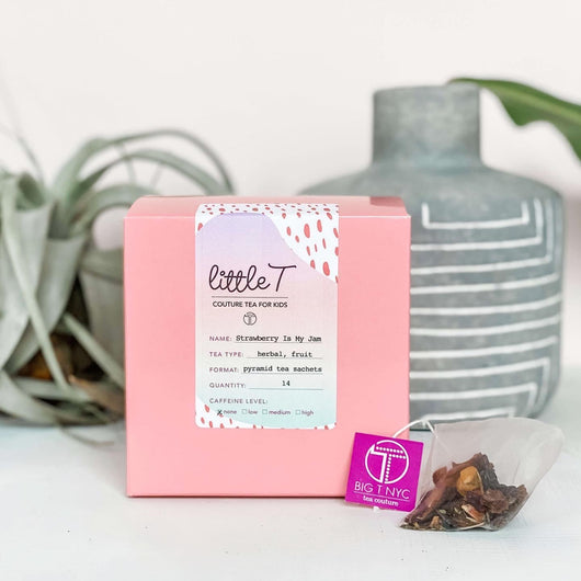 Little T Organic Fruit Tea Box