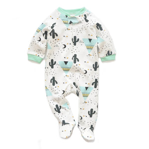Joshua Tree Footed Onesie