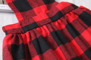 Plaid Apron Dress
