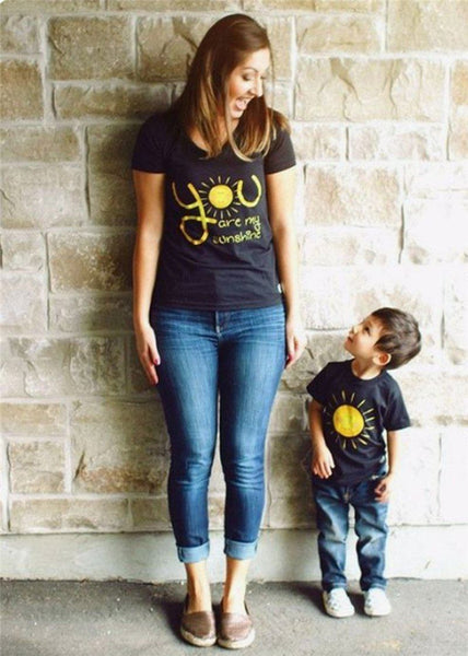 Mommy-Baby Matching Sunshine Tee