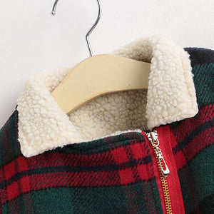 Winter Plaid Shearling Jacket (more colors)