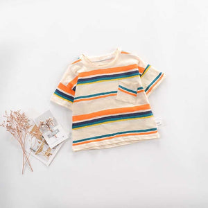 Creamy Stripes Tee