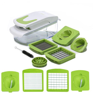 Fruit and Vegetable Chopper and Spiralizer