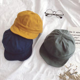 Canvas Short Bill Cap