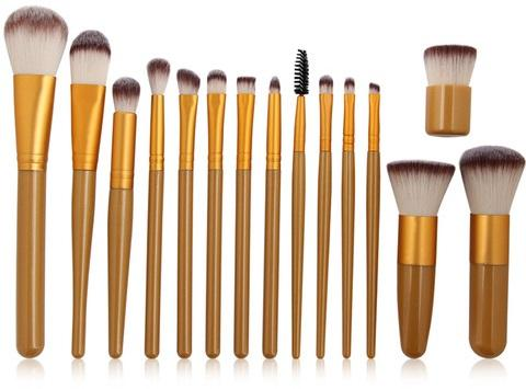 Professional 15-Piece Makeup Brush Set