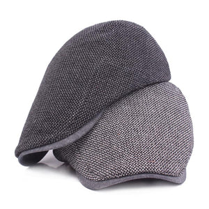 Men's Adjustable Flat Cap