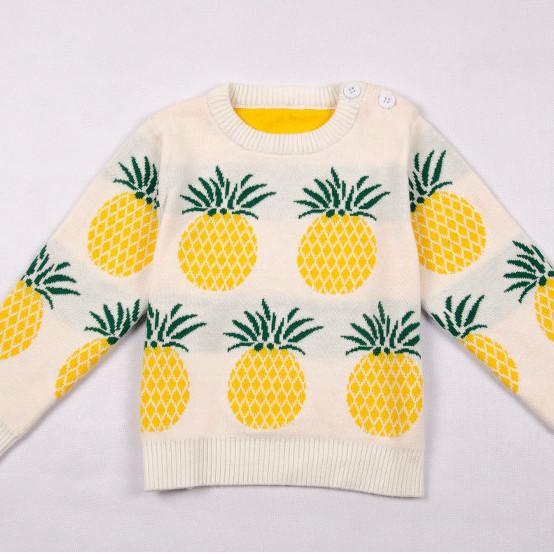 Pineapple Print Sweater (more colors)
