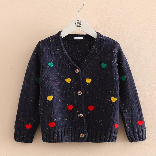Heart Stamp Sweater