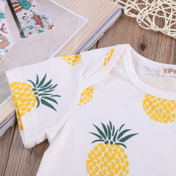 Poolside Pineapple Romper