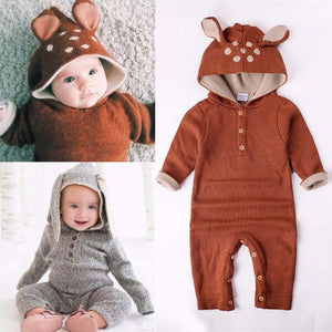 Animal Knit Onesie