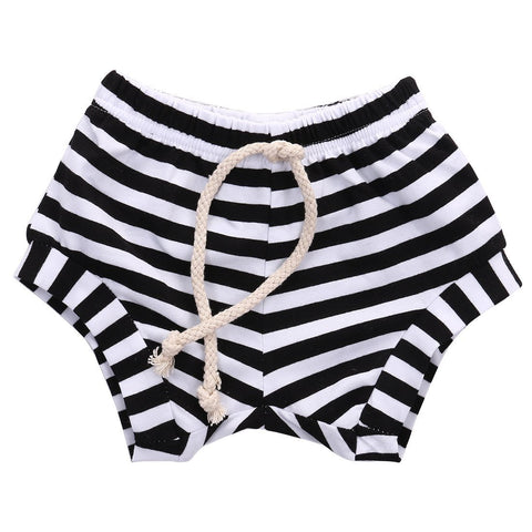 Comfy Striped Shorts