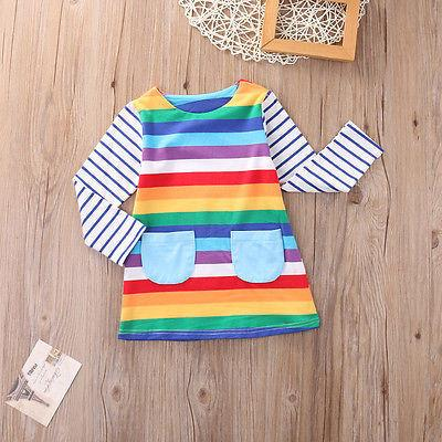 Rainbow Vibes Dress