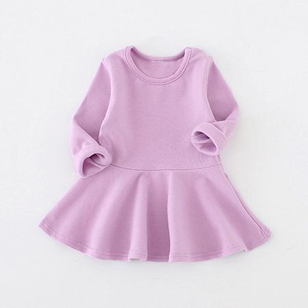 Solid Cotton Dress (more colors)